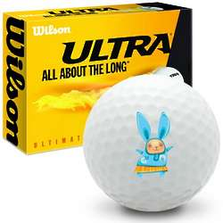 Happy Easter Bunny Ultimate Distance Golf Balls
