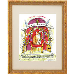 Picture Your Pet King or Queen Framed Print