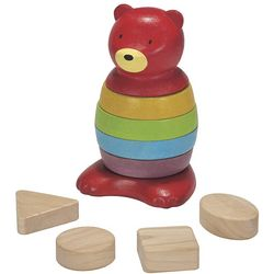 Color and Shapes Bear Stacking Toy