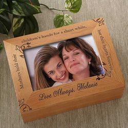 To My Mother Wooden Photo Box