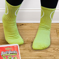 Tennis Ball Socks