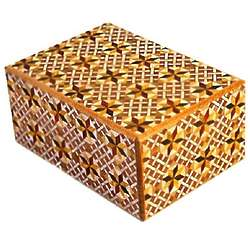 4 Sun 12 Steps Star Japanese Puzzle Box