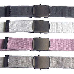 "1.5"" Deluxe Military Fabric Belt"