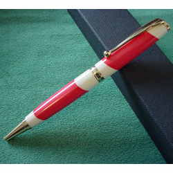 Handcrafted Billiard Ball Pen or Pencil