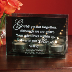 Personalized Eternity Candleholder