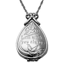 Personalized Merry Christmas from Heaven Locket