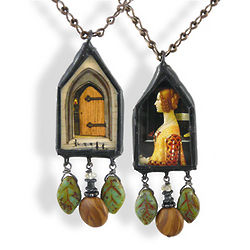 Georgianna's Door Reversible Necklace