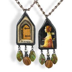 Georgianna's Door Reversible Necklace