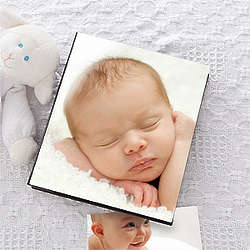All About Baby Personalized Baby Photo Album