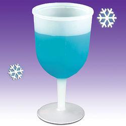 Frosty Wine Goblets