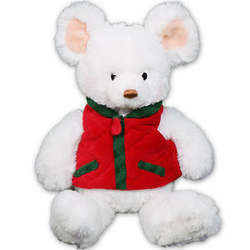 Embroidered Mojo Holiday Mouse