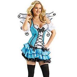 Turquoise Fairy Women's Costume
