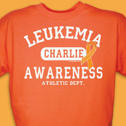 Leukemia Awareness Athletic Dept. T-Shirt