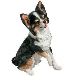 Hand-Cast Chihuahua Figurine