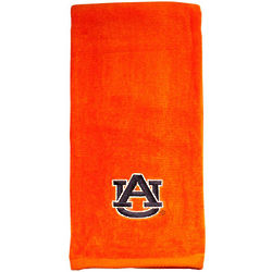 Embroidered Auburn University Orange Tennis Towel