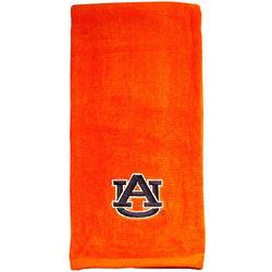 Embroidered Auburn University Orange Tennis Towel
