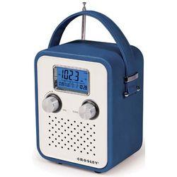 Blue Leatherette Songbird Radio