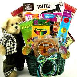 Kid's Basket of Fun Gift Basket