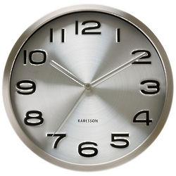 Maxie Steel Wall Clock