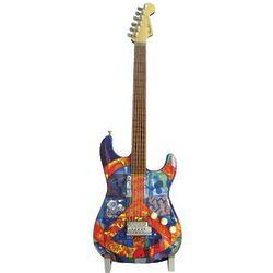 GuitarMania Miniature Guitar Peace Figurine
