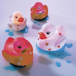 Light-Up Love Duckies
