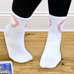 Baseball Ball Socks