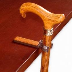 Oak Walking Cane Holder