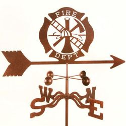 Fire Dept. Emblem Weathervane