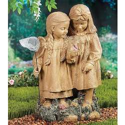 The Butterfly Collectors Garden Statue