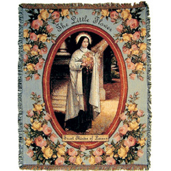 St. Therese Blanket