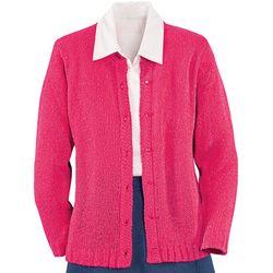 Bouclé Cardigan Sweater