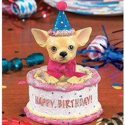 Happy Birthday Chihuahua Figure Findgift Com