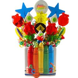 Back to School Celebration Candy Bouquet