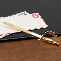 Montante Brass Sword Letter Opener