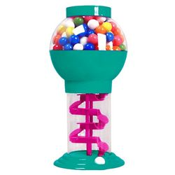 Plastic 10 Inch Spiral Gumball Machine