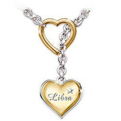 Zodiac Sign Diamond Necklace Jewelry
