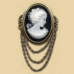 Victorian Lady Brooch