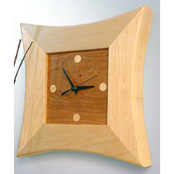 Celestial Wood Clock