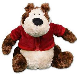 Personalized Holiday Goober Jr. Bear