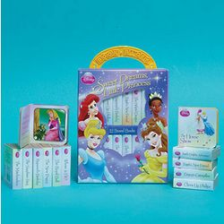 Disney Princess Book Set in Carry Case