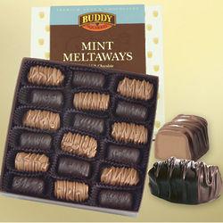 Milk and Dark Chocolate Mint Meltaways Gift Box