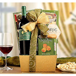 Cliffside Vineyards Merlot Gift Basket