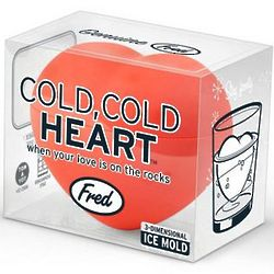 Cold Heart 3D Ice Mold