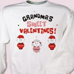 Sweet Valentines Personalized Sweatshirt
