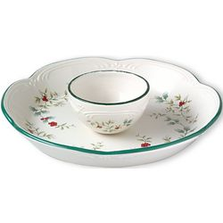 Winterberry 2-Piece Chip N' Dip Set