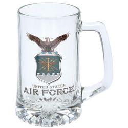 Air Force Military Glass Tankard