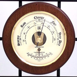 German Thermometer and Barometer