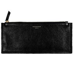 Slim Wallet in Noir
