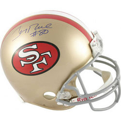 Jerry Rice San Francisco 49ers Autographed Throwback Helmet