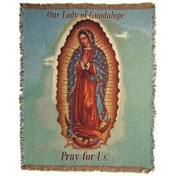 Our Lady of Guadalupe Blanket - Tapestry Throw